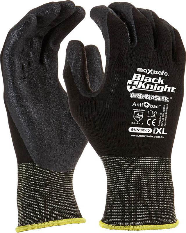 Black Knight Gripmaster Coated Glove