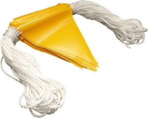 Yellow Bunting Flag Line