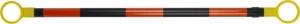 Retractable ABS Cone Bar - Orange/Black