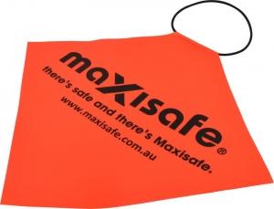 Maxisafe Orange Long Load Flag