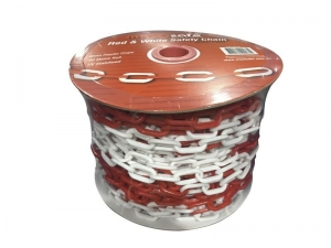 Red & White Safety Chain