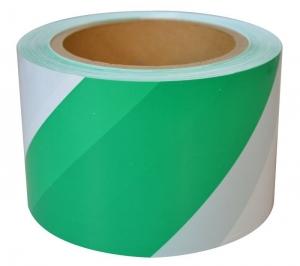 Barricade/Barrier Tape - Green & White