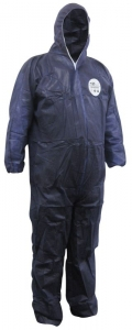Chemguard Blue SMS Type 5/6 Coveralls