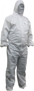 Chemguard White SMS Type 5/6 Coveralls