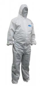 Maxisafe White Laminated Coverall