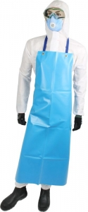 Maxisafe Blue PVC Apron