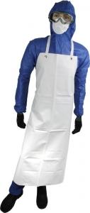 Maxisafe White PVC Reuseable Apron