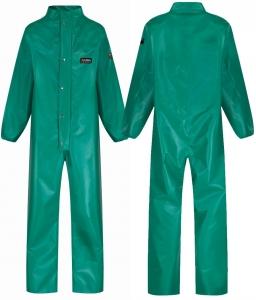 Chemmaster Green PVC Coverall