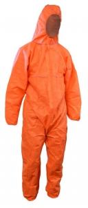 Maxisafe Orange Polypropylene Coverall
