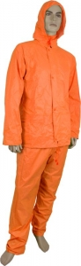Maxisafe Orange PVC Rainsuit
