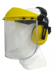 Maxisafe Clear Faceshield & Earmuff Assembly