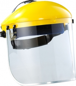 Maxisafe Yellow browguard (with ERC430 clear visor)