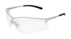 BOSTON Metal Frame Safety Glasses - Clear Lens