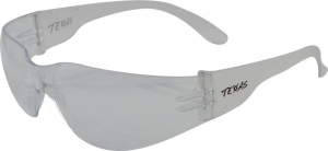TEXAS Safety Glasses with Anti-Fog - Clear Lens