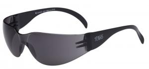 TEXAS Safety Glasses with Anti-Fog - Smoke Lens