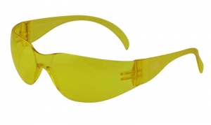 TEXAS Safety Glasses with Anti-Fog - Amber Lens
