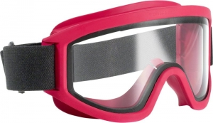 Maxisafe Fire Fighter Goggles, Anti-Fog Clear Lens