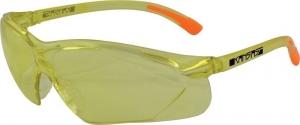 KANSAS Safety Glasses with Anti-Fog - Amber Lens