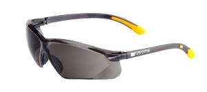 KANSAS Safety Glasses with Anti-Fog - Smoke Lens