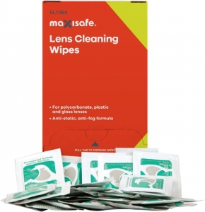 Maxisafe Anti-Fog Lens Cleaning Satchets