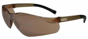 NEVADA Safety Glasses with Anti-Fog - Bronze Mirror Lens