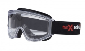 Maxi Goggles with Anti-Fog - Clear Lens