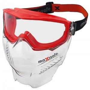 MaxiPRO Safety Goggle & Visor Combo