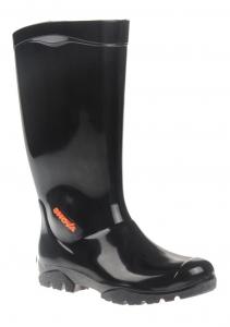 Maxisafe 'Shova' Non-Safety Gumboot - Black