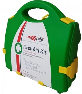 Maxisafe Workplace First Aid Kit - Hard Case