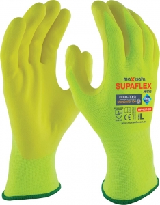 SupaFlex Hi-Vis Yellow Glove