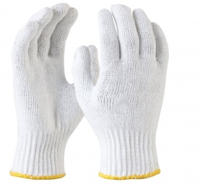 Maxisafe Bleached, Knitted Poly Cotton Liner Glove
