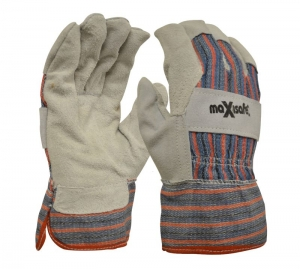Maxisafe Candy Stripe Leather Glove