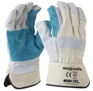 Heavy Duty Polisher Gloves - Reinforced Palm