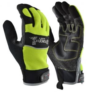 G-Force Hi-Vis Cut 5 Mechanics Glove
