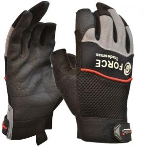 G-Force 'Tradesman' 2 Finger Mechanics Gloves