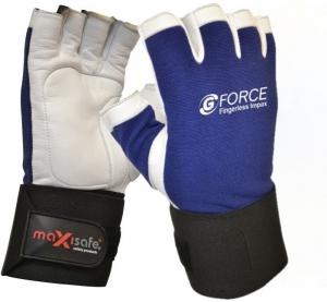 G-Force Fingerless Anti-Vibration Mechanics Gloves