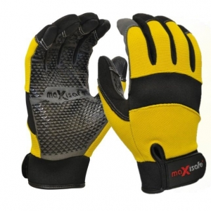 G-Force MaxGrip' Mechanics Glove with Silicone Grip