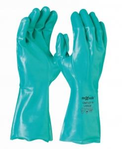Maxisafe Green Nitrile Chemical Glove - 33cm
