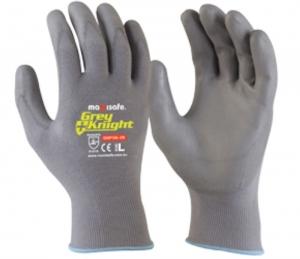 Grey Knight Nylon PU Coated Nylon Glove