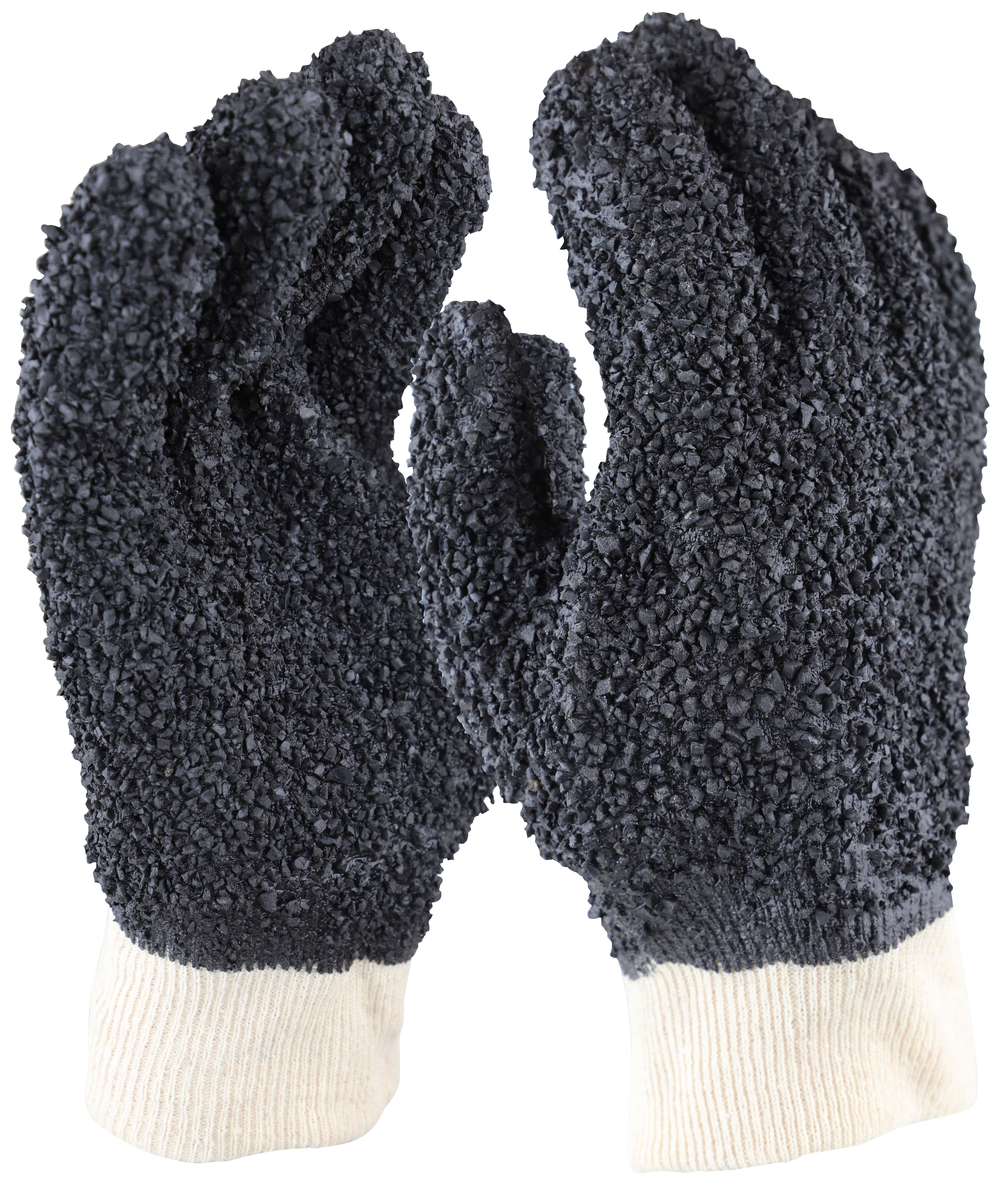 'Grizzly' Black PVC Debudding Glove