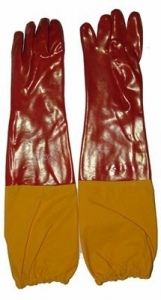 Maxisafe Red PVC 60cm Gauntlet