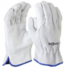 Maxisafe Natural Split Back Leather Rigger Glove
