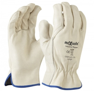 Maxisafe Premium Full Grain Leather Riggers Glove
