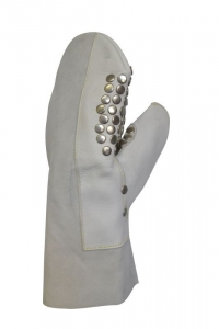 Maxisafe Studded Leather Plumbers Glove - left hand
