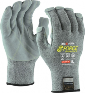 G-Force Leather Palm Cut Resistant Glove