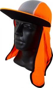 Maxisafe Orange Cap with Neck Flap