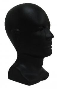 Moulded Head Display - Black