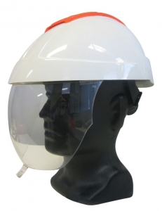 E-MAN 4000 Helmet with Clear Visor & Chinstrap