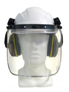 Maxisafe Helmet, Muff & Visor