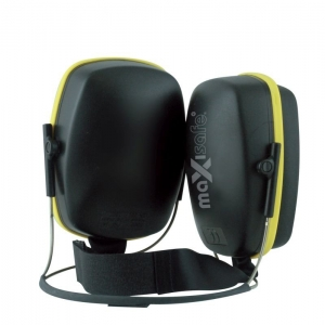 Maxisafe Neck Style Earmuff 25dB - Class 4 - Yellow